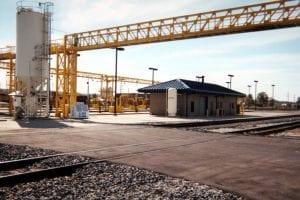 CSX Locomotive Service Facility