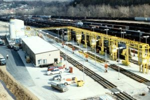 CSX Locomotive Fueling Facility