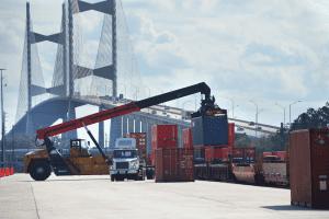 JaxPort Intermodel Container Transfer Facility (ICTF)